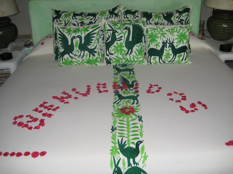 2007-11-30-0002-Las Alamandas in Jalisco, Mexico with Hahns-Casa Del Domo, Our Bedroom.JPG