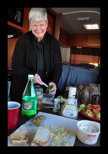 2013 - RV Meal in Alaska.JPG