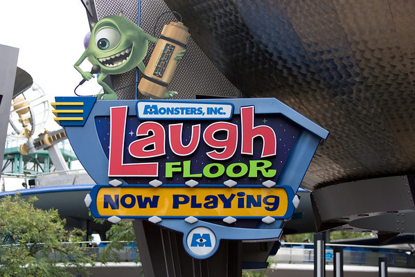 Monsters Inc., Laugh Floor