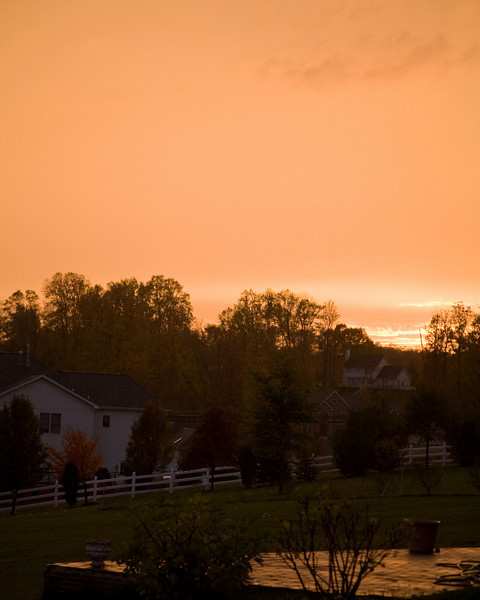 Orange Sunset