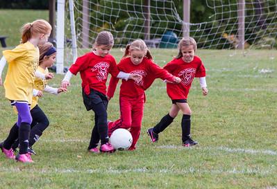 U7 Girls Soccer autumn 2014