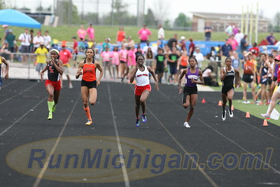 200M Girls' Finals - 2016 MHSAA LP D1 TF Finals