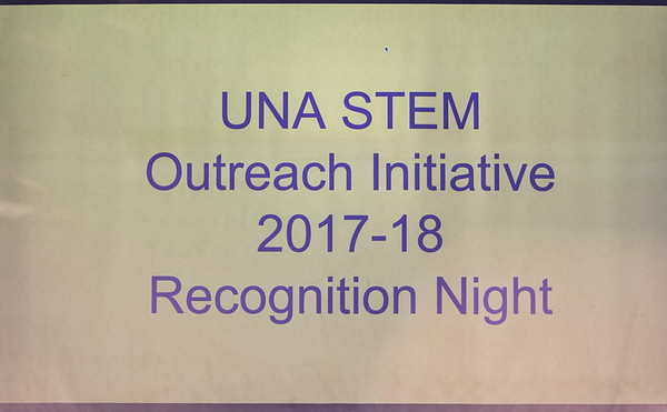 UNA Stem Outreach Initiative 2017-18 Recognition Night