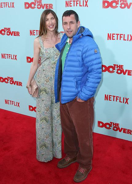 Adam Sandler & Jackie Sandler