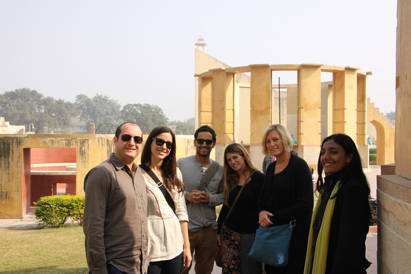 with our guide Meeta