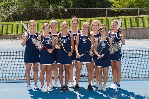 2012-08-22 Hillsdale College Women's Tennis Team Pictures