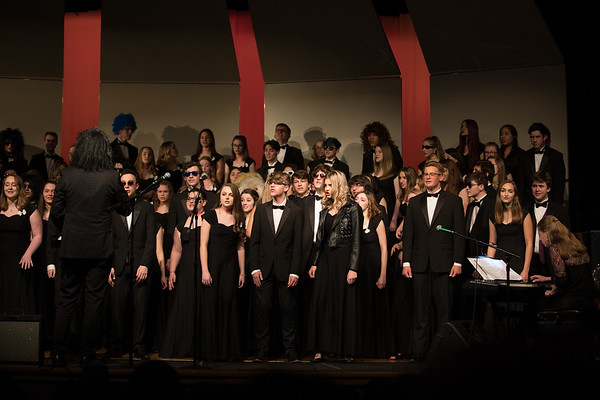 Arvada West Choir Pops Concert 2019 - Part 1 - Friday Night