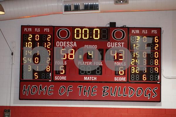 Junior Varsity-Odessa vs Oak Grove 2-17-09