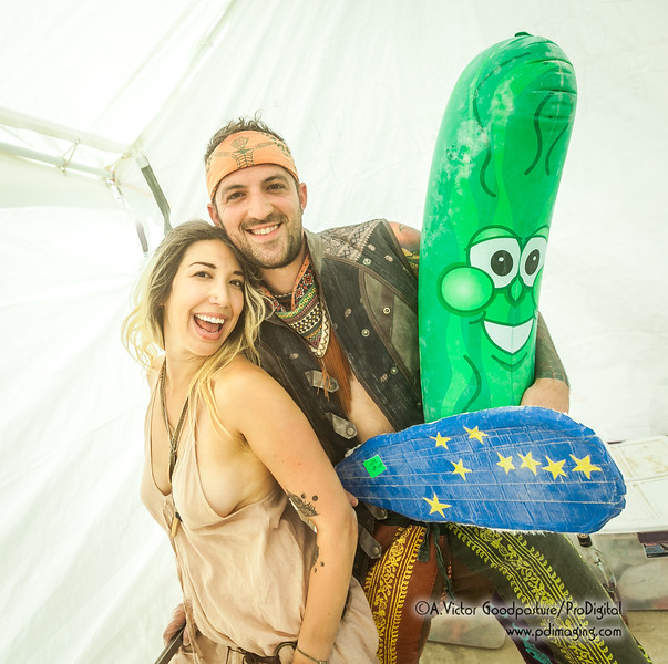 The pickle people were just a hoot!