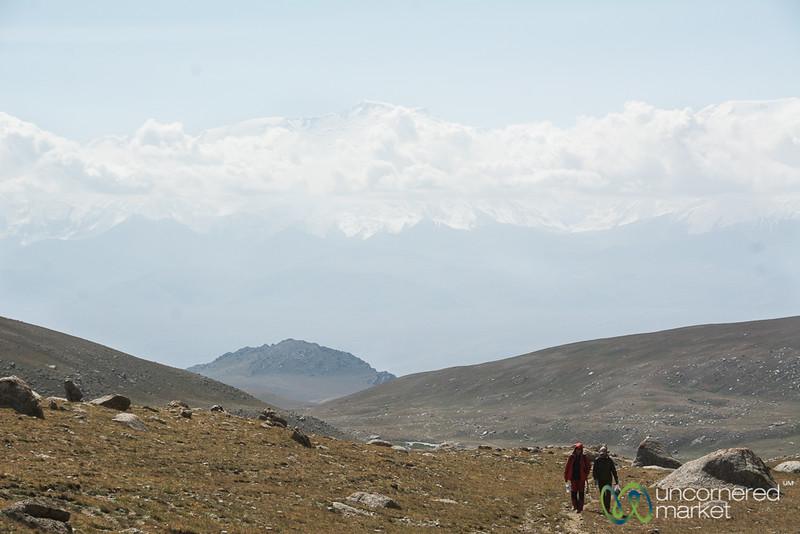 Hiking up to Koshkol Lakes - Alay Mountains, Kyrgyzstan
