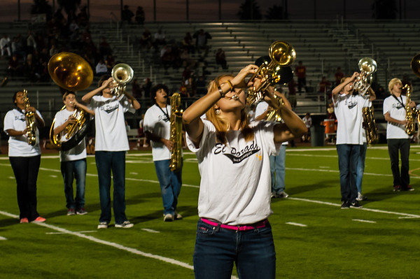 20121005 El Dorado Band Homecoming