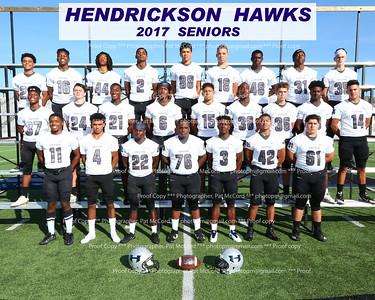 2017 Hendrickson Hawk Football