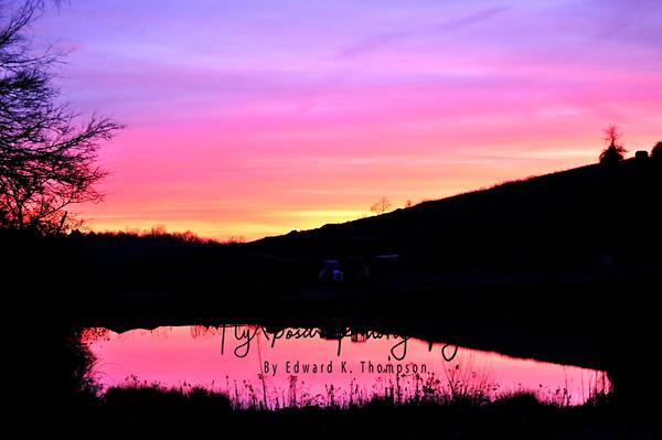 Sunset December 6th.....
