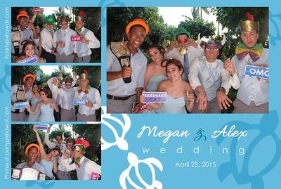 Alex & Megan's Wedding (LED Open Air Photo Booth)