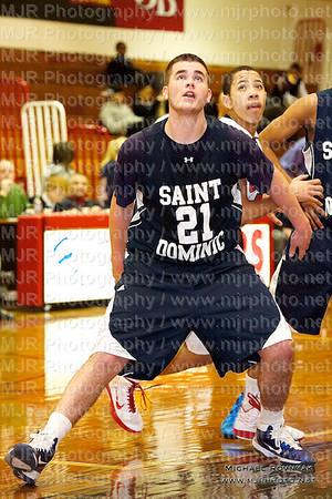 St John's Vs St Dominic's, Boys Varsity Basketball 02.08.11