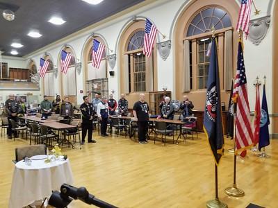 American Lk. Hosp. Vet's day visit