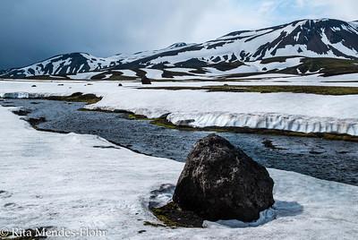 trek from Alftavotn to Strutur