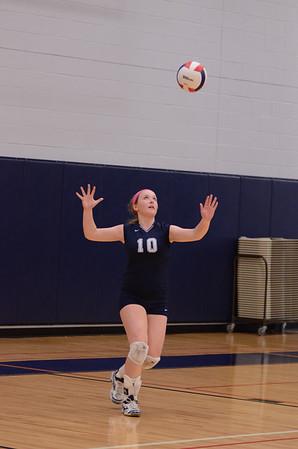 OE freshman girls volleyball 2014