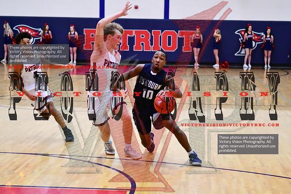 Osbourn @ Patriot Boys Varsity Basketball 1-28-20