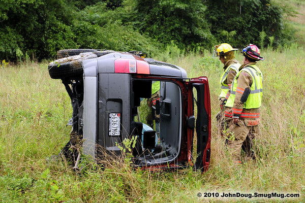 8/18/2010 Roll Over on Flat Iron Rd