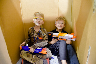 Colson's 6th Nerf War Birthday Party