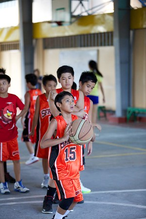 Grade School Basketball SFAMSC vs LBCA