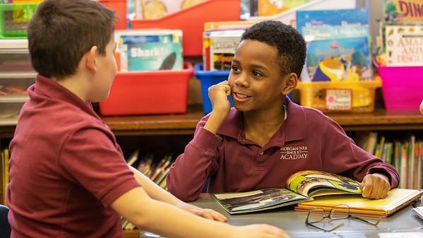 Reading Buddies - First & Fourth Grade
