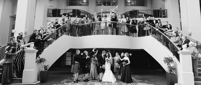 Fairmont hotel wedding