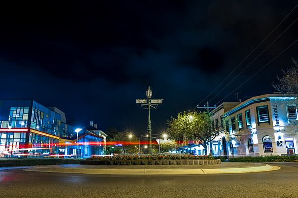 Warrnambool by night