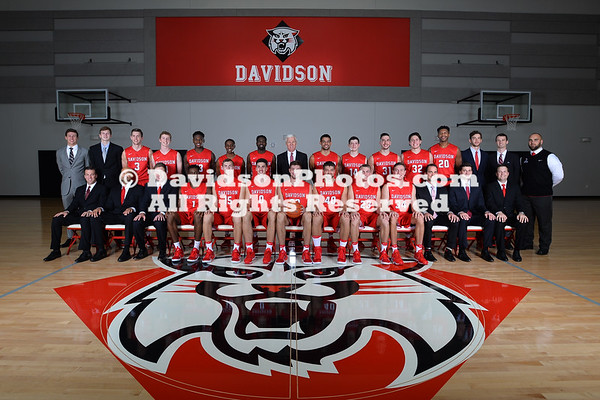 2016-17 Men's Basketball Team Pictures