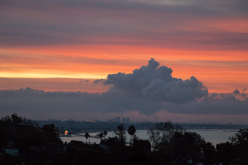 October 31 - Last sunrise of October over Santa Monica, CA.jpg