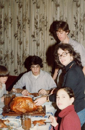 Segre's and Ryans-Thanksgiving 1980 at 112 Homer