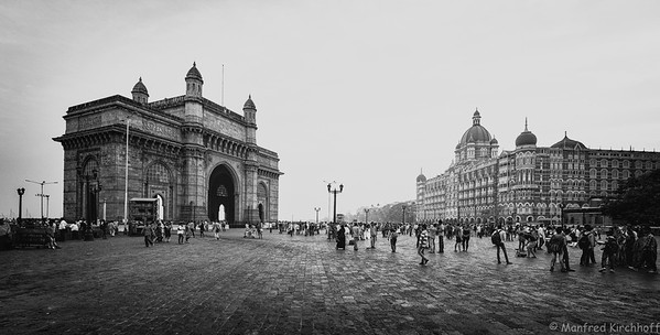 Mumbai People & Streetlife B&W