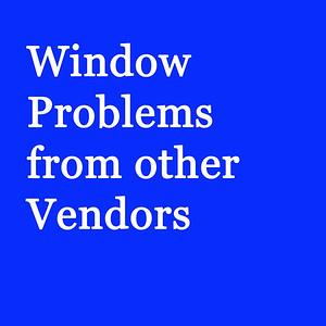 Window Miss Installs