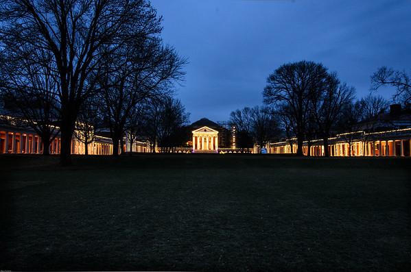The Lawn at UVA