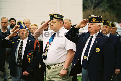 2004 New Milford VFW Pearl Harbor WWII Ceremony
