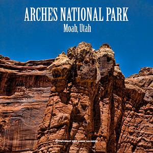 UTAH - ARCHES NATIONAL PARK, MOAB