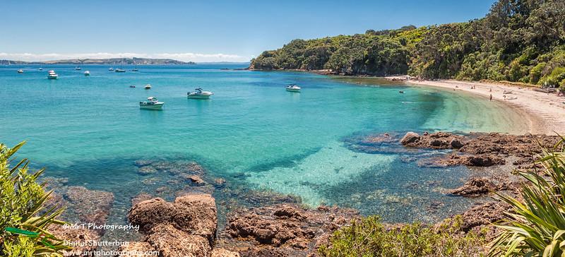 Hobbs beach Tiritiri Matangi Hauraki Gulf New Zealand