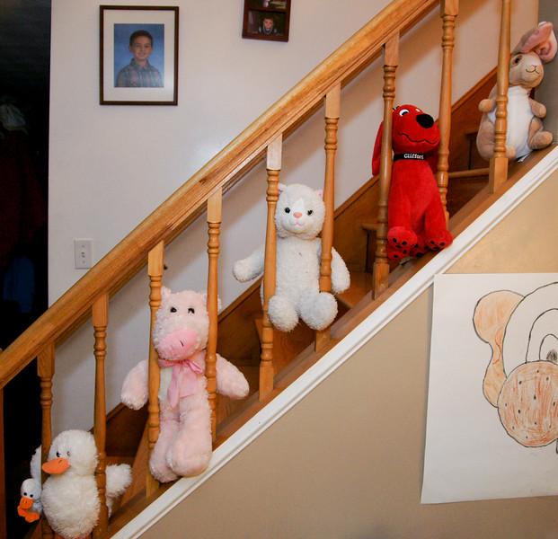 Stair Animals