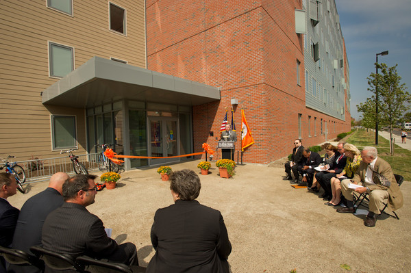 9/13/11 Ribbon Cutting for New Student Apartment Complex