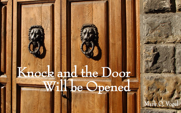 KNOCK AND THE DOOR WILL BE OPENED INSPIRATIONAL  PHOTO BOOK WITH  COMFORTING BIBLE VERSES HARDBOUND / EBOOK