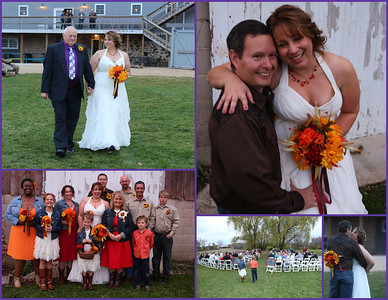 Dayna & Paul: Barn Dance Wedding @ Harvest Moon Pond