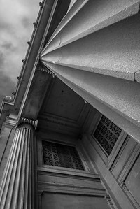 New Orleans Museum of Art in B&W 9-6-2015
