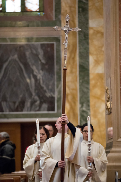 Presentation and blessing of the processional cross