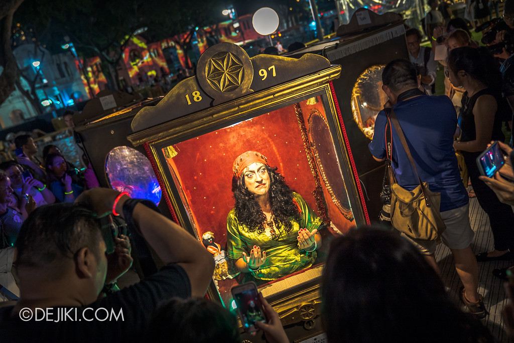 Singapore Night Festival 2018 – Performances / Automatarium (by David Berga) Fortune Teller overview