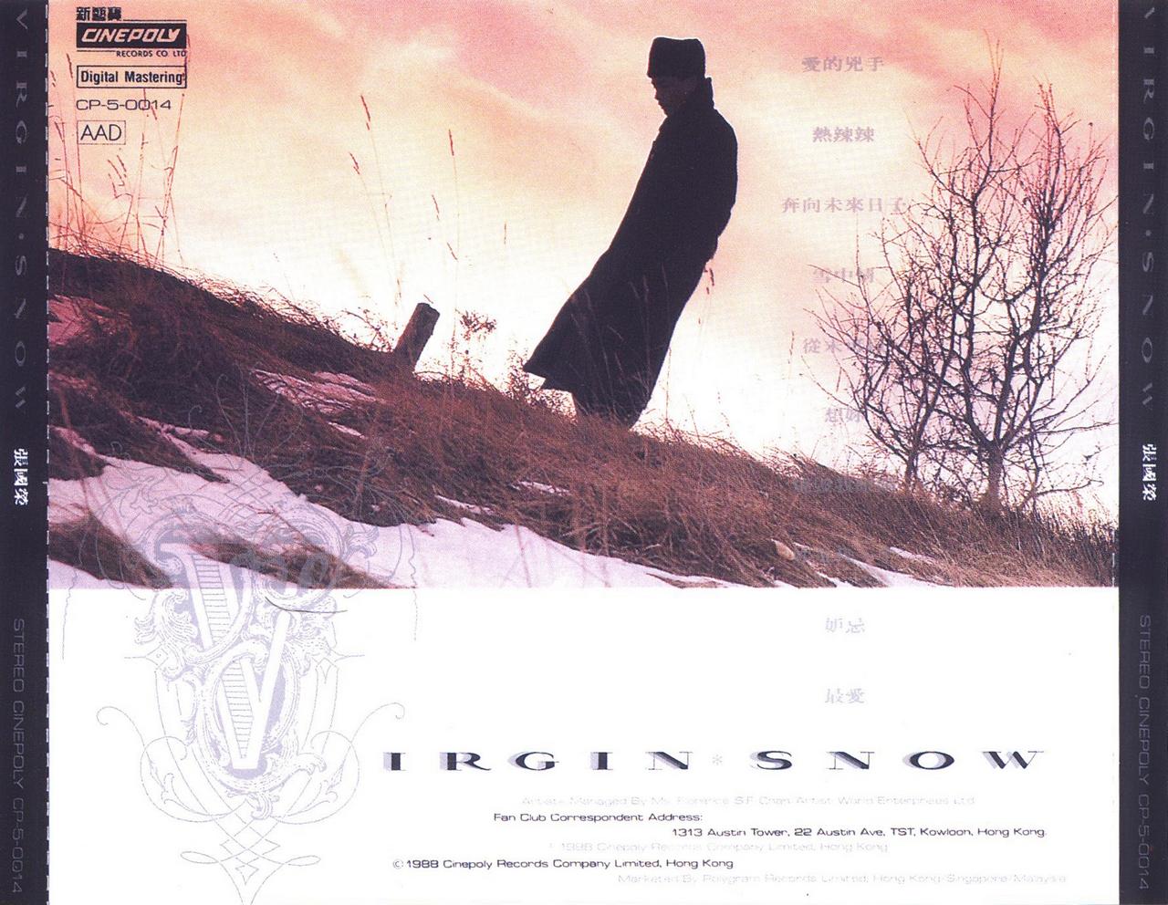 张国荣 Virgin Snow