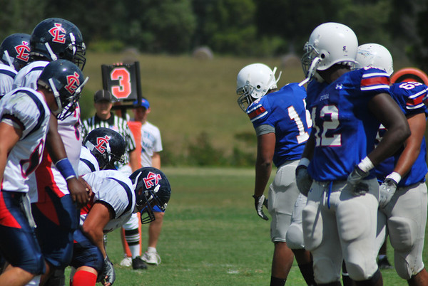 PG Football vs. Louisburg College