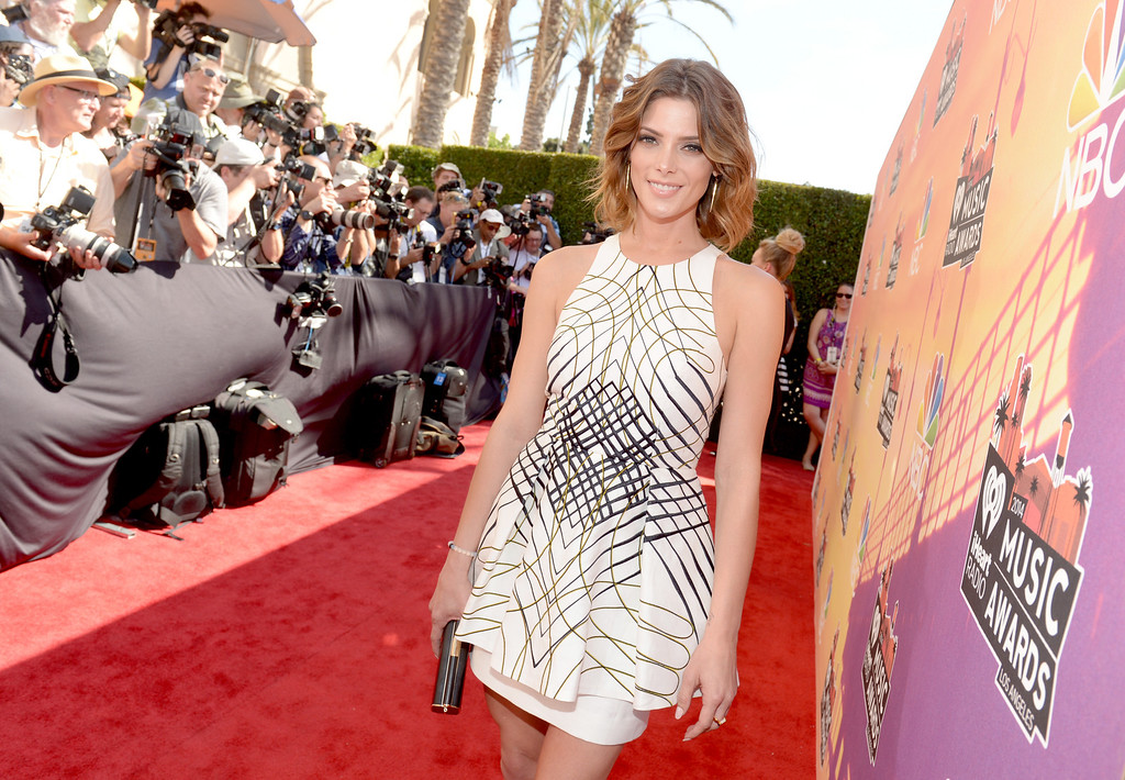 . LOS ANGELES, CA - MAY 01:  Actress Ashley Greene attends the 2014 iHeartRadio Music Awards held at The Shrine Auditorium on May 1, 2014 in Los Angeles, California. iHeartRadio Music Awards are being broadcast live on NBC.  (Photo by Jason Kempin/Getty Images for Clear Channel)