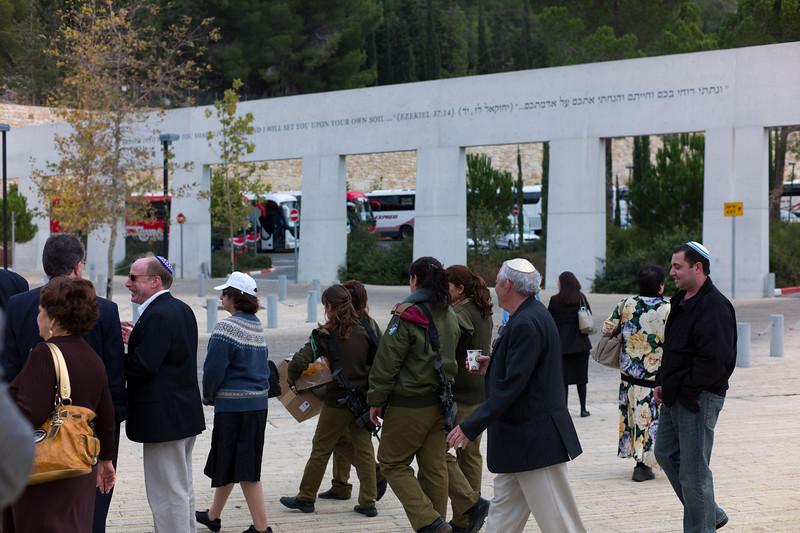 Leaving Yad Vashem