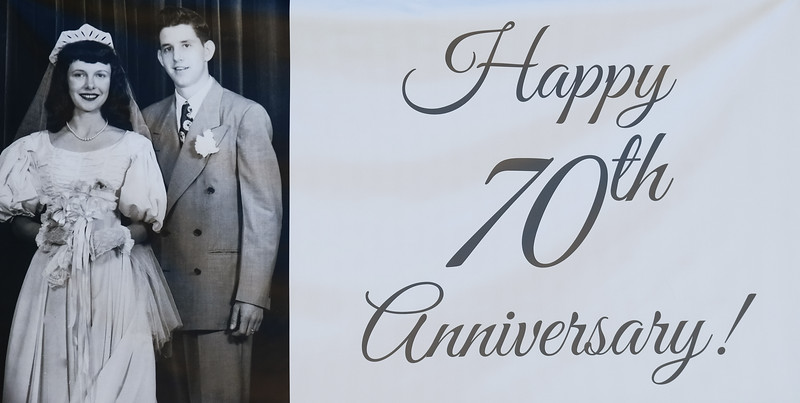 70th Anniversary Celebration Party
